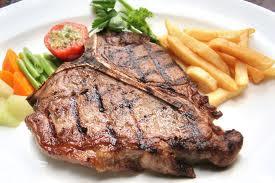 Beeff T-bone steak เนื้อโคขุนเมนูใหม่ที่ครัวริมน้ำบ้านไร่ลองทานแล้วจะติดใจ