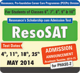 Admission Announcement ResoSAT