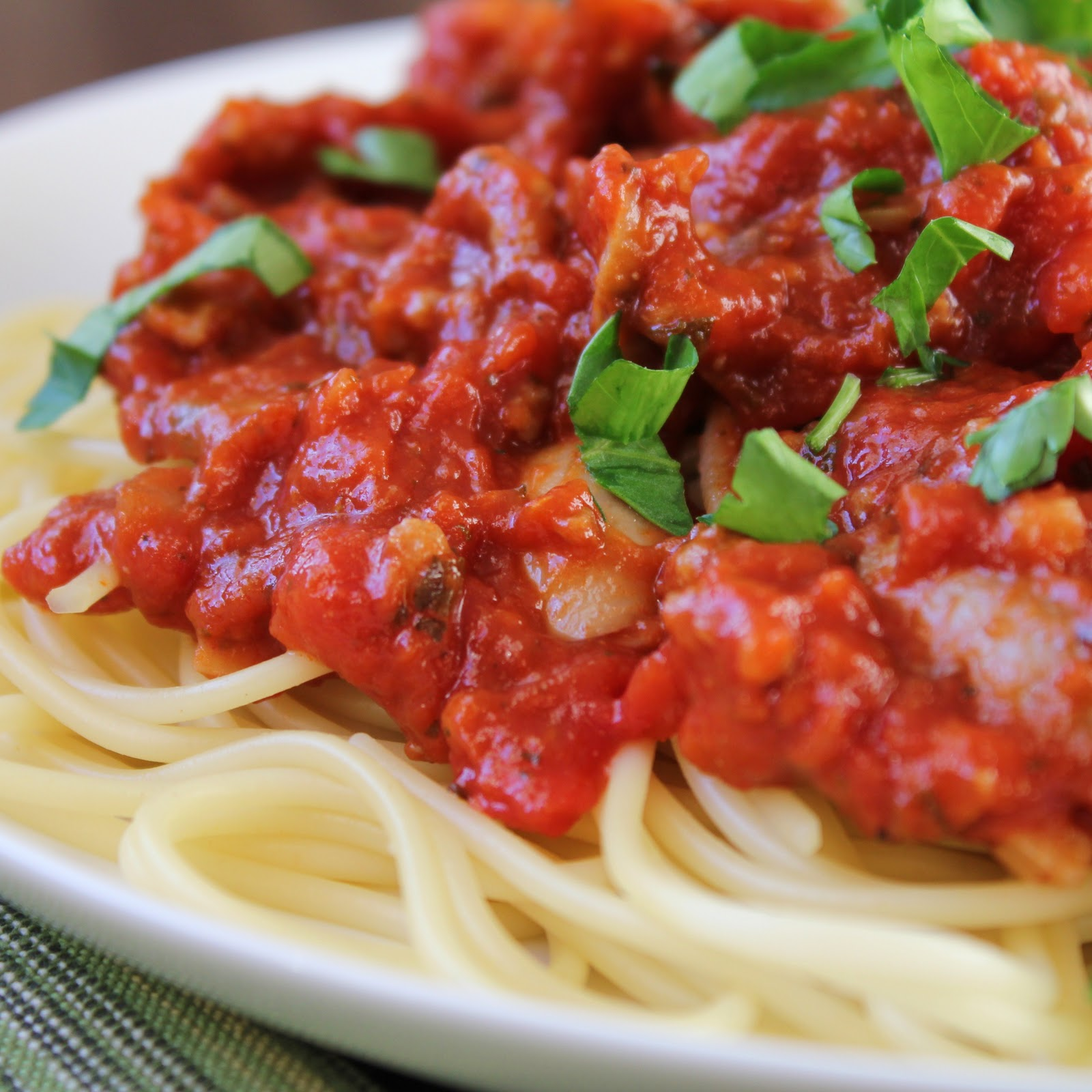 Delicious as it Looks: New Year's Spaghetti Dinner