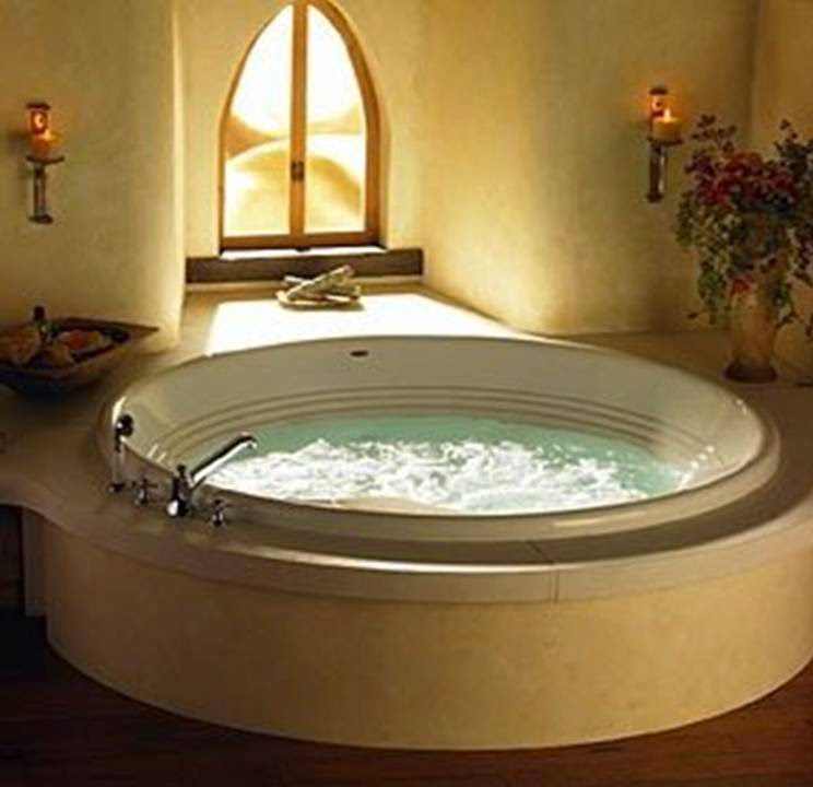Home Decor 25 Gorgeous Bathroom Style With Round Bathtub