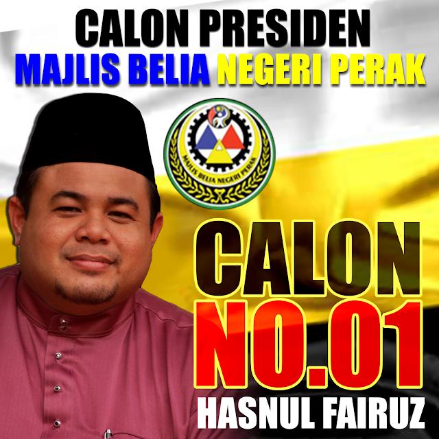 Kenali Calon Presiden Majlis Belia Negeri Perak