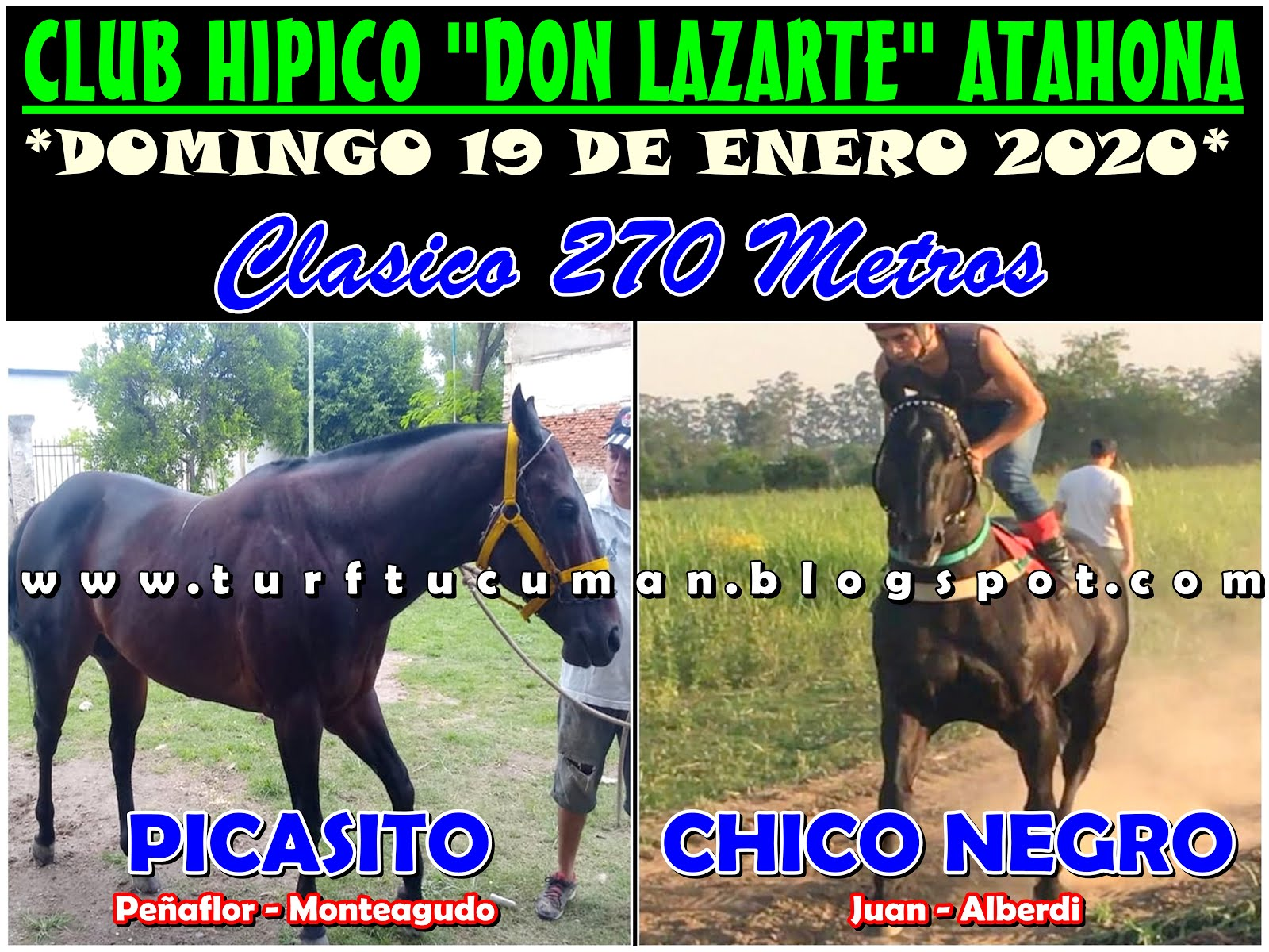 CHICO NEGRO VS PICASITO