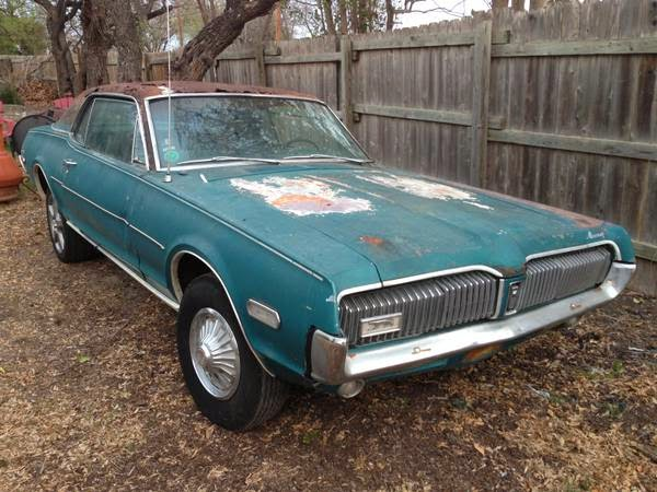 1968 Mercury Cougar Xr 7 For Sale Buy American Muscle Car