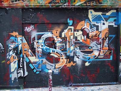 Graffiti art insitst 3D