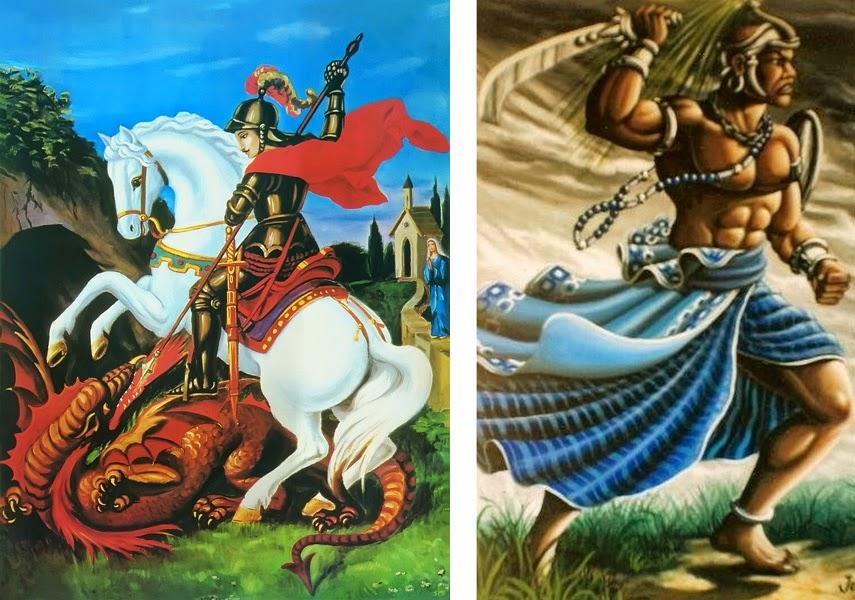 São Jorge e Ogum na Umbanda