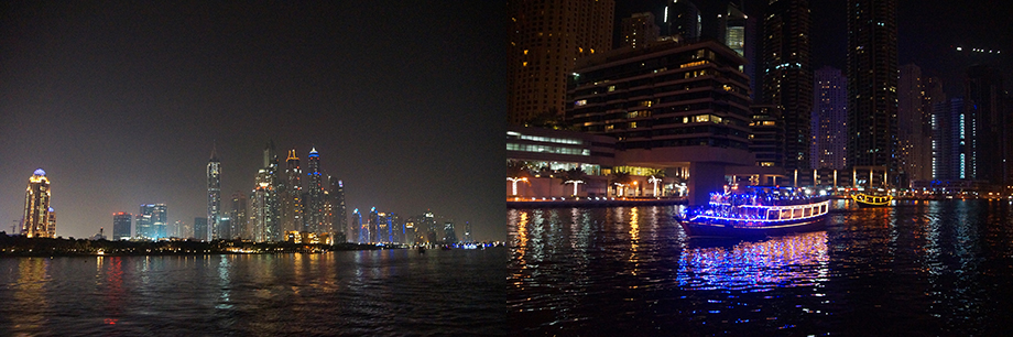 Ynas Reise BLog | VAE | Marina Dhow Dinner Fahrt | Dubai Marina