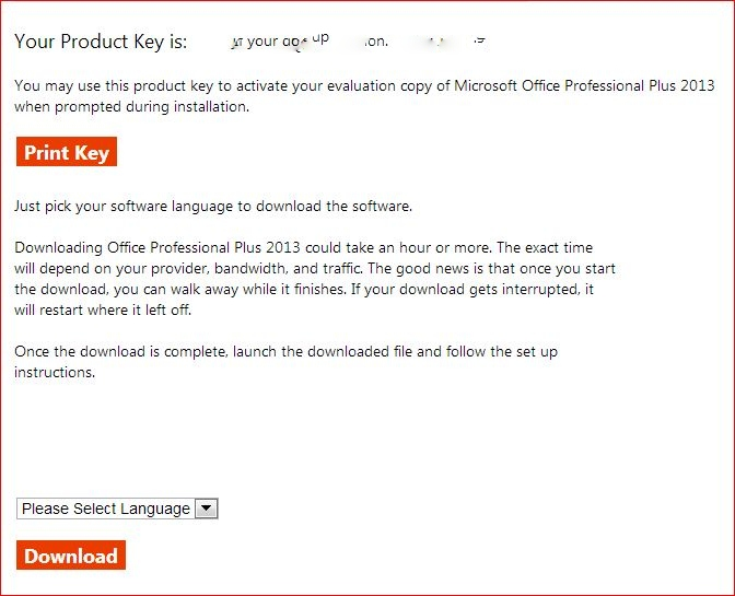 office 2013 trial version download