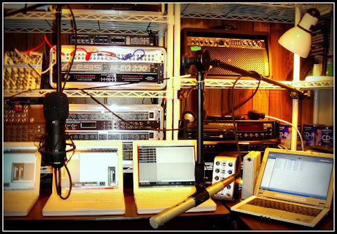 Work Place ~ home studio 1