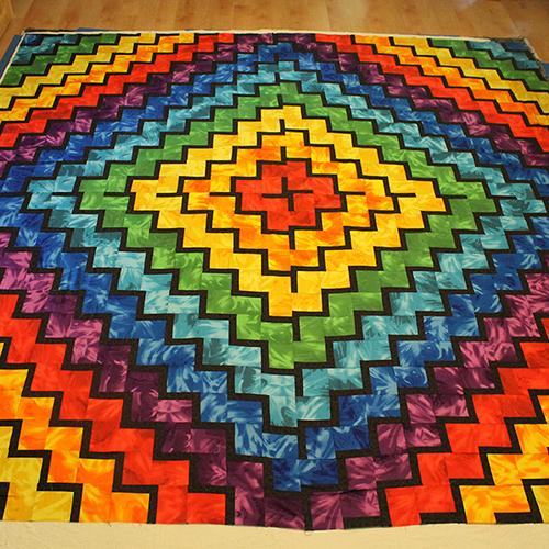Rodanthe Rainbow Quilt