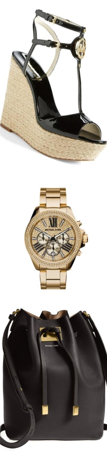 Michael Kors Wren Pave Dial Chronograph Watch