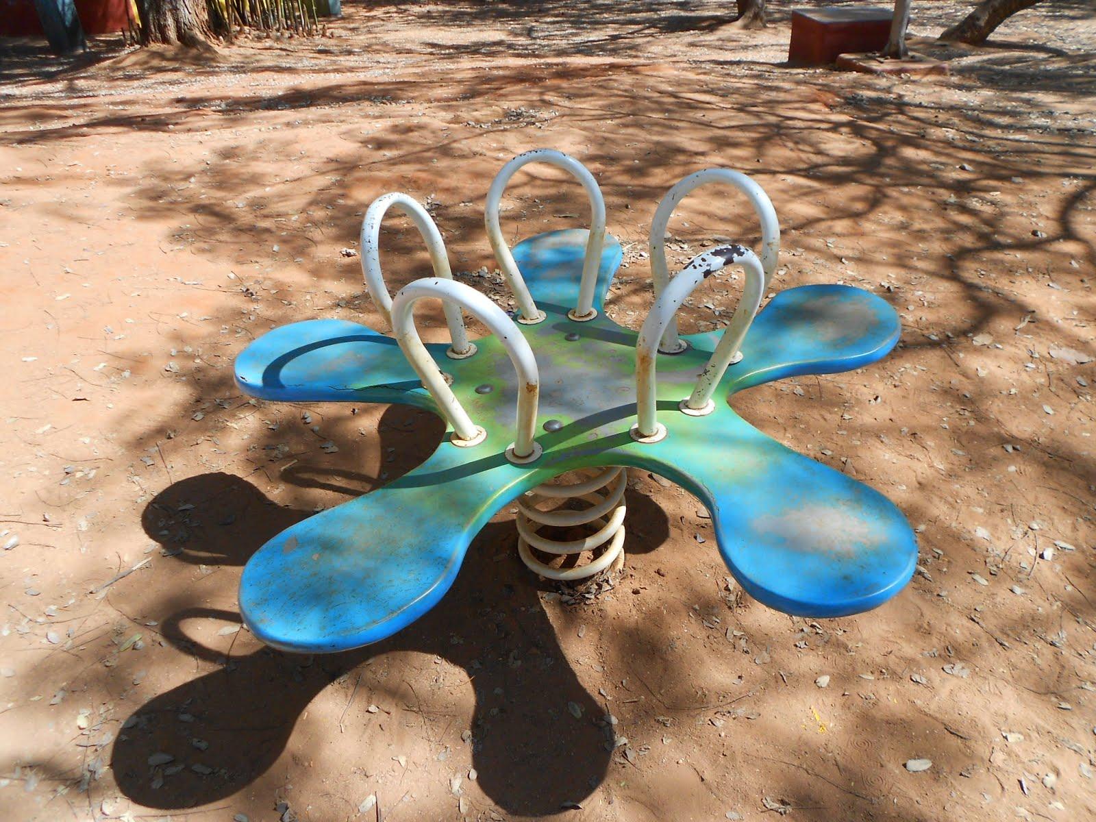 Brinquedo que a escola ganhou no concurso do AQUI SE BRINCA