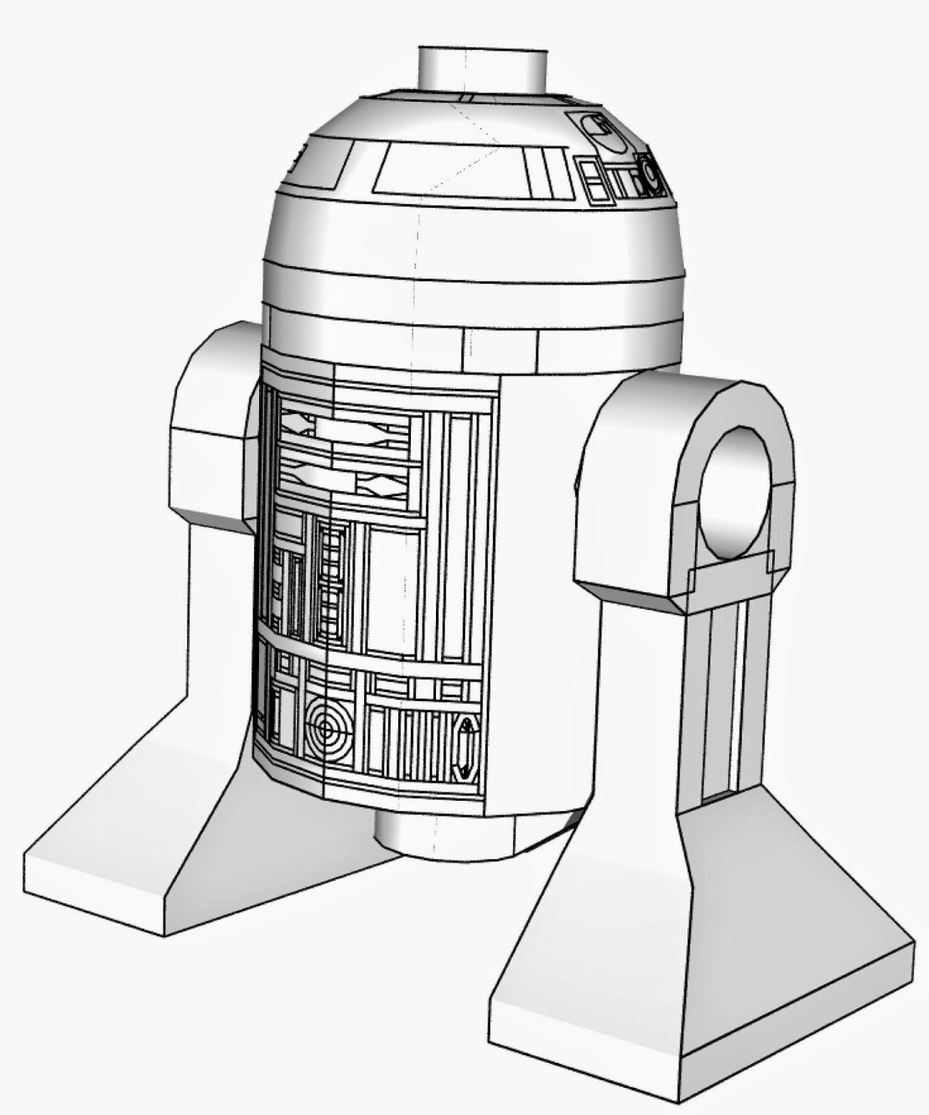Ausmalbilder Star Wars Lego