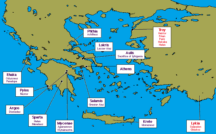 A3prof Map Of Greece