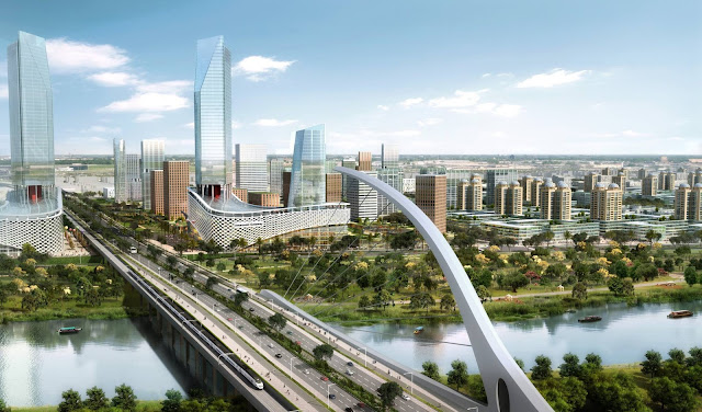 First look Plans of Andhra Pradesh Seed Capital City at Amaravathi