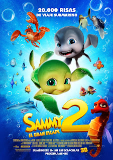 Ver Película Las Aventuras de Sammy 2: El Gran Escape Online Gratis (2012)