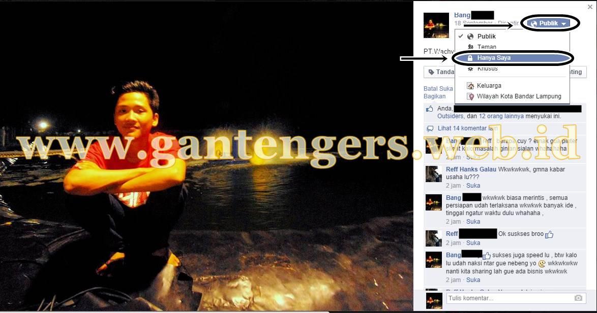 Cara Agar Foto Profil Facebook Tidak Bisa Di Klik Orang Lain