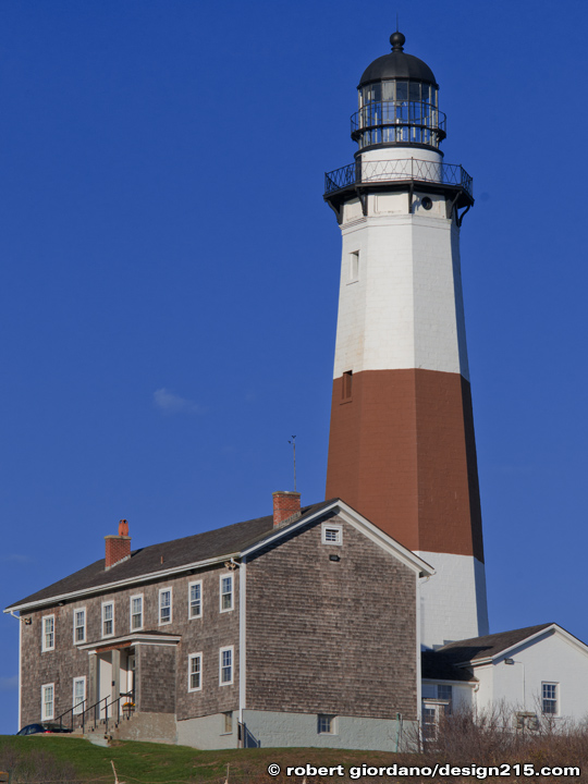 Montauk Lighthouse, Long Island, New York, Copyright 2010 Robert Giordano