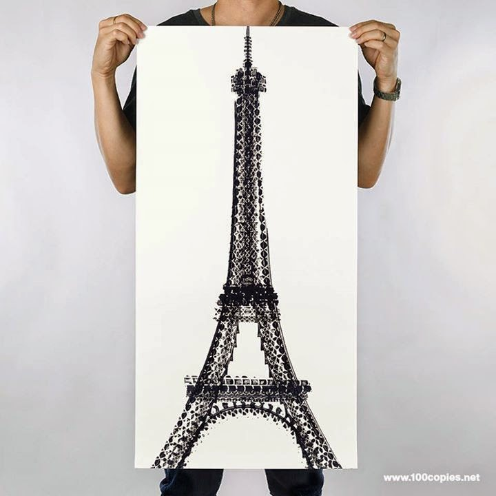 01-Eiffel-Tower-Paris-France-Thomas-Yang-Art-From-Bicycle-Drawings-in-100copies--www-designstack-co