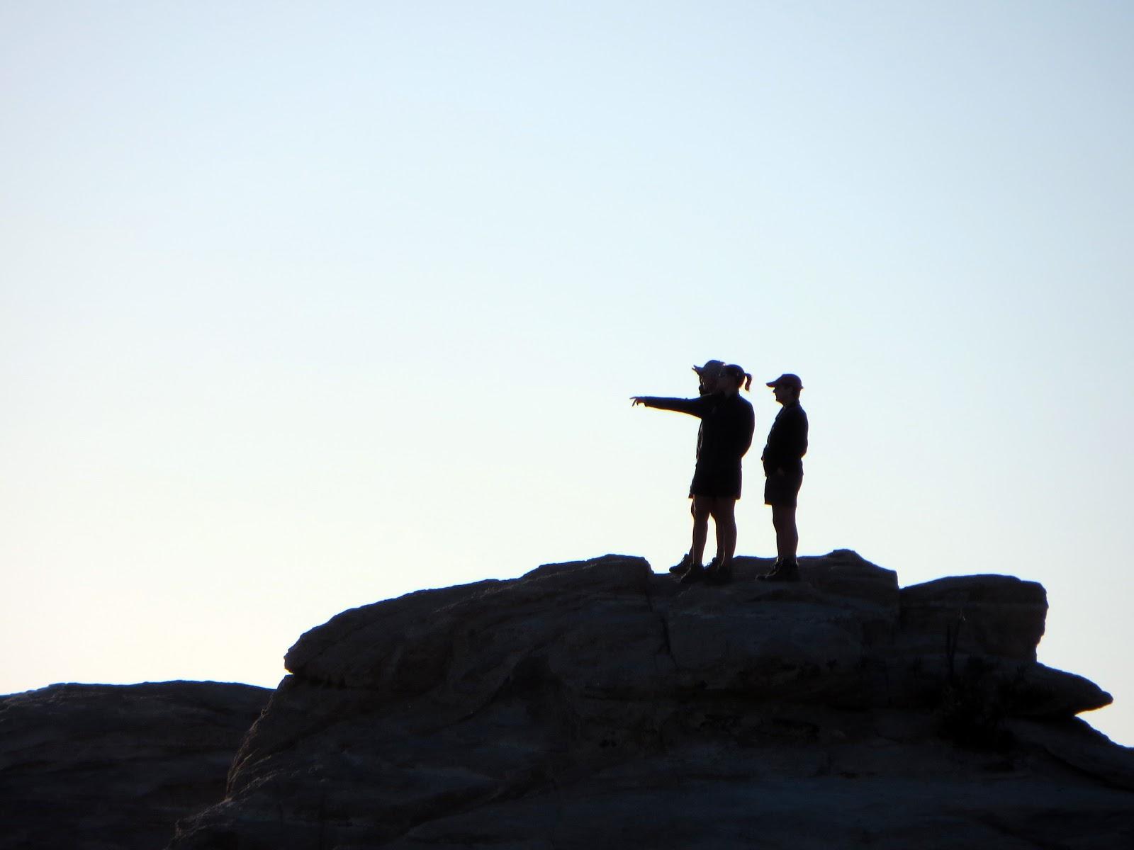 hiking silhouette desktop wallpaper - photo #18