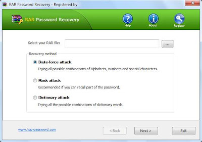 RAR Password Recovery 1.80 (32bit) Portable