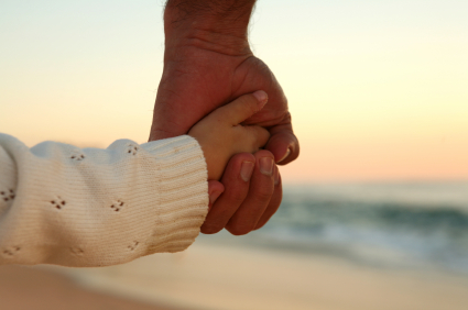 God s hand in mine