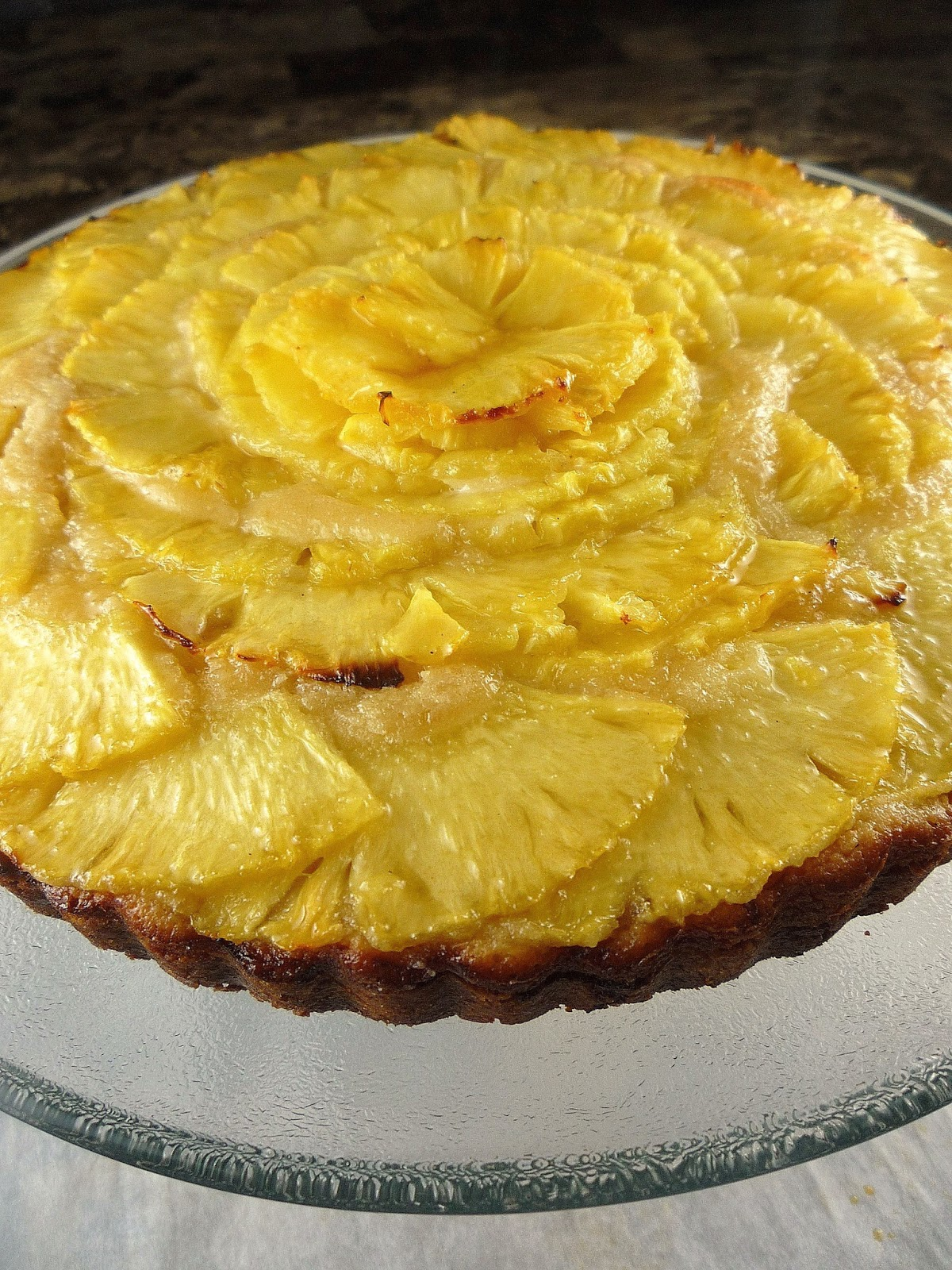 ... : Bear Essentials: Pineapple ( + Pineapple and Macadamia Nut Tart