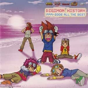 Download Digimon History 1996-2006 Album Music