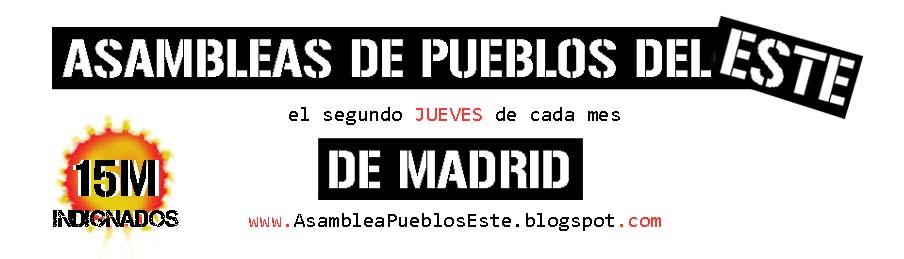 Asambleas  de los Pueblos del Este de Madrid
