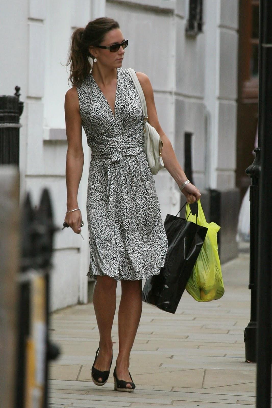 Kate Middleton Returns to her London Aprtment