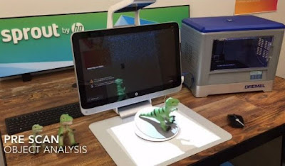 Novo acessório da HP transforma computador em scanner 3D