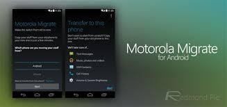 Motorola Migrate, Aplikasi Menarik untuk Berbagi Konten