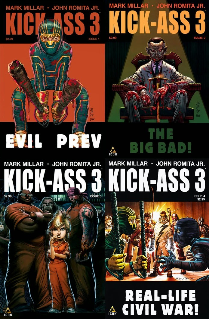 KICK-ASS 3 - Mark Millar