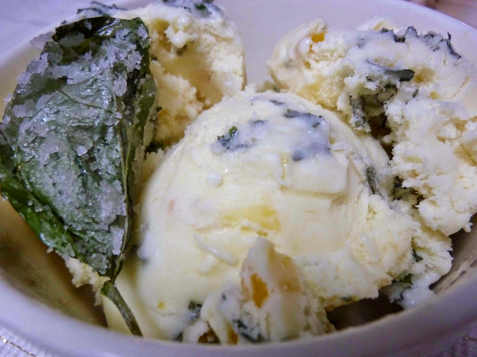 Diary of a Mad Hausfrau: Sweet Corn Ice Cream with Candied ...