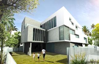 Diseño de casa contemporánea
