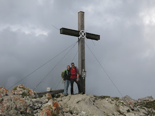 Am Gipfel des Aggensteins