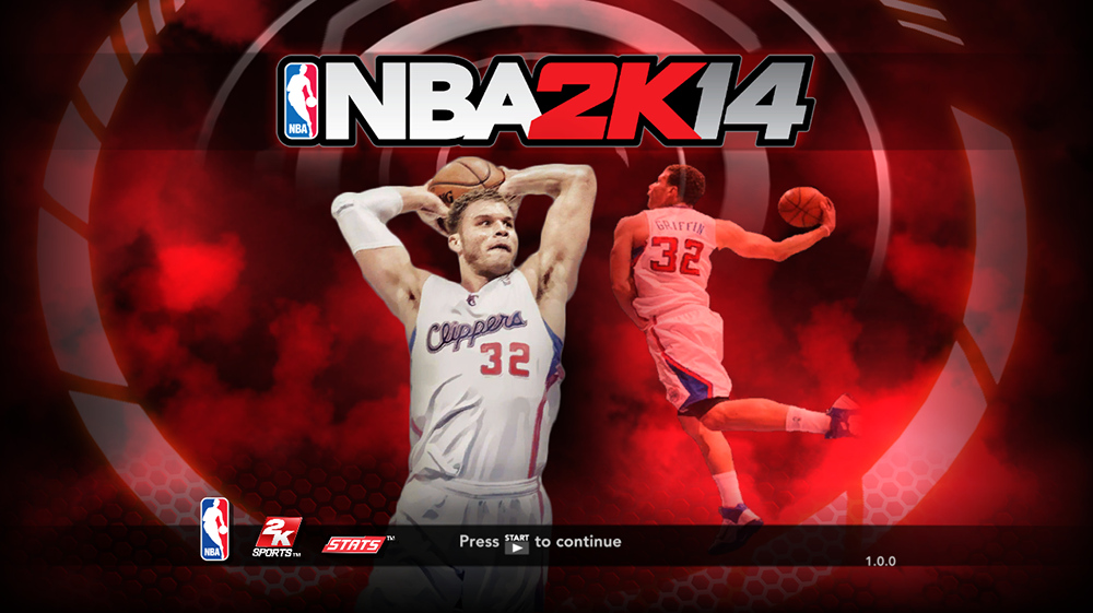 NBA 2K14 Blake Griffin GUI Loading Screen Mod