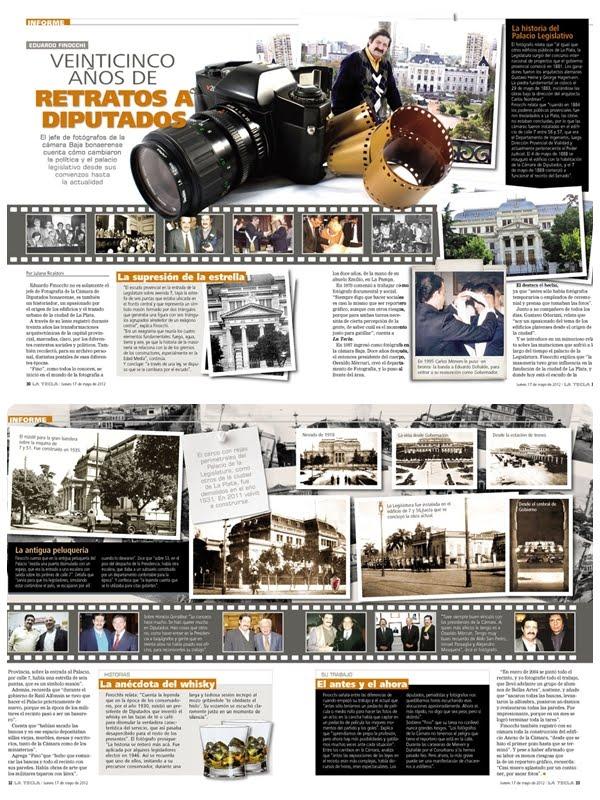 Reportaje Revista La Tecla 2012