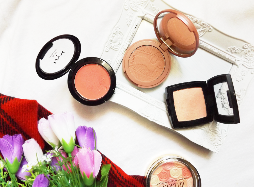 makeup blush collection tag review tarte blog