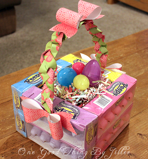 Edible Easter Basket One Good Thing By Jillee