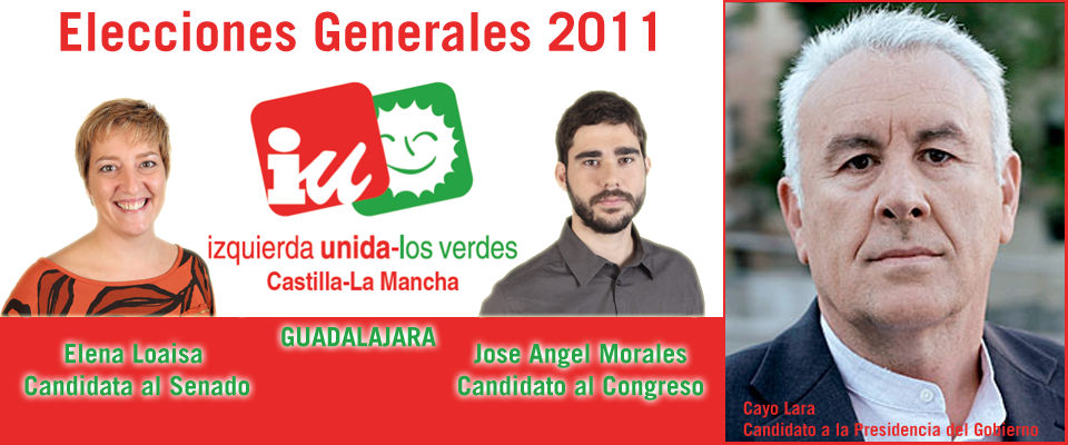 Elecciones Generales 2011 (IU Guadalajara)