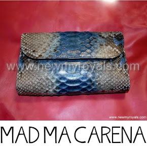 Queen Letizia Style MADMACARENA Jessica Clutch Bag