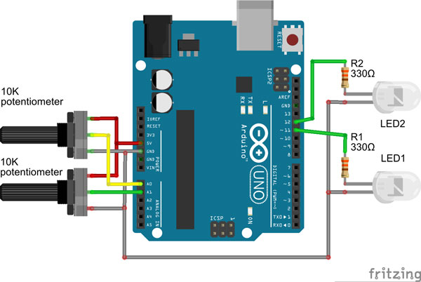 Arduino download wire library
