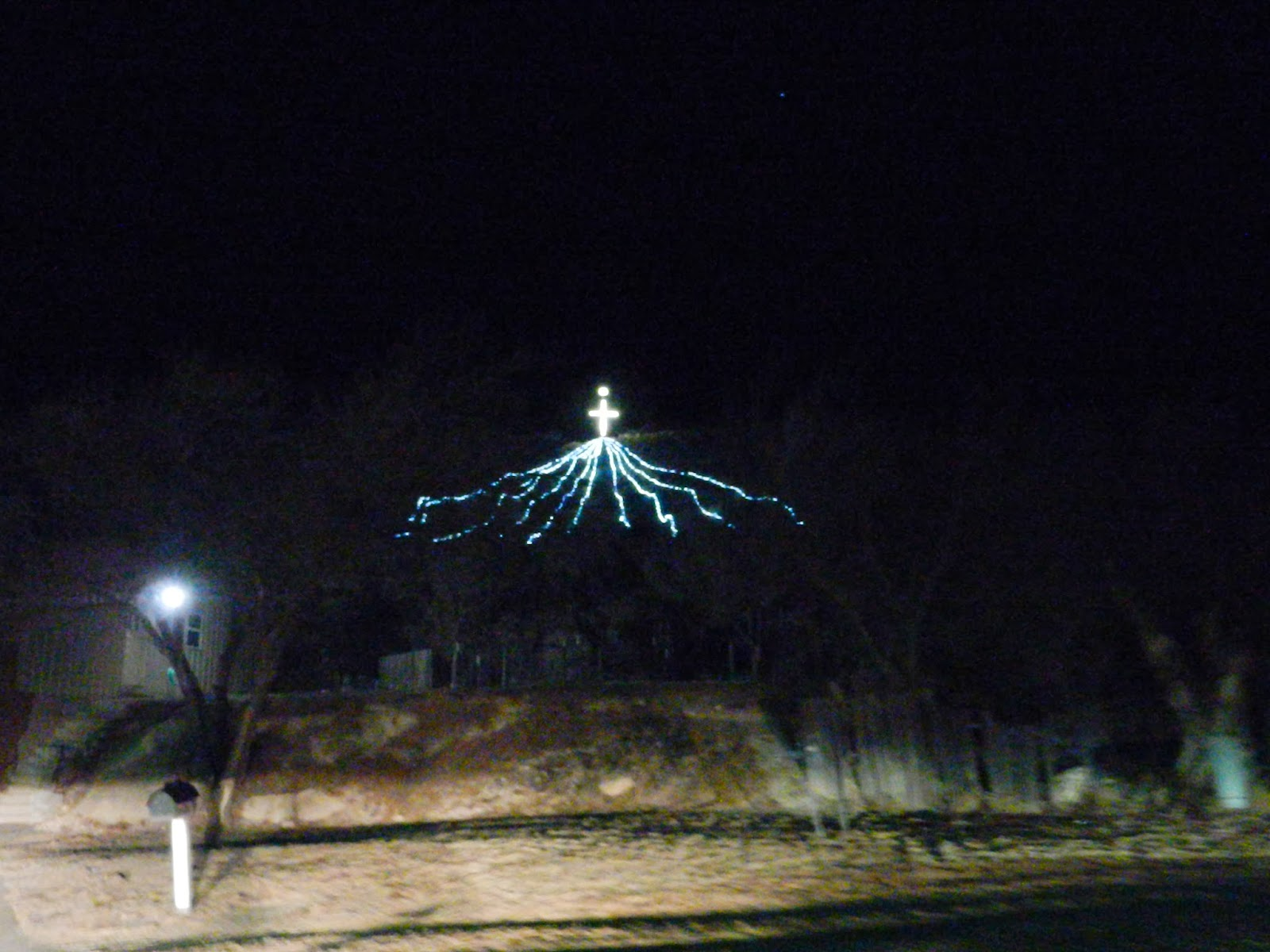 Christmas light show