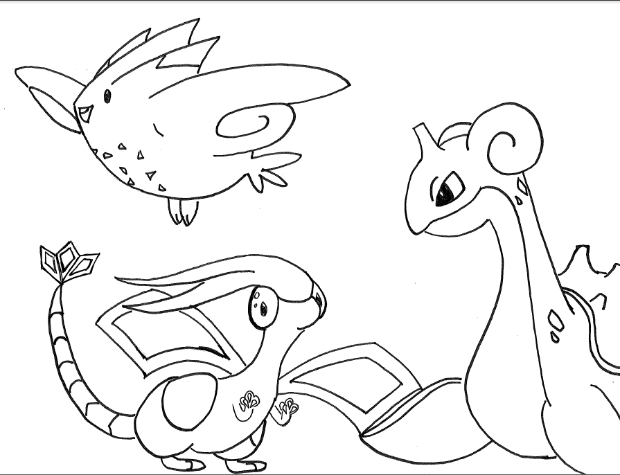 Whales can 39 t read pokemon meme part 3 and the last for Flygon coloring pages