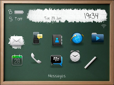 BlackBoard 2 Theme for blackberry free download