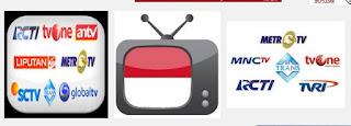 Nonton TV online indonesia terlengkap tercepat tanpa buffering live Streaming SCTV RCTI Bein Sports Indosiar ANTV GlobalTV Trans7 Mivo tv TVOne TransTV
