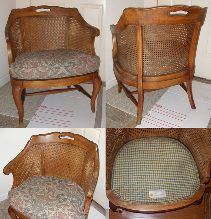 Wear Is Expected Due To The Age Of The Chairs. Still In Great Condition For  Its Age. Walnut Wood. Made In USA (2 Chairs/set)