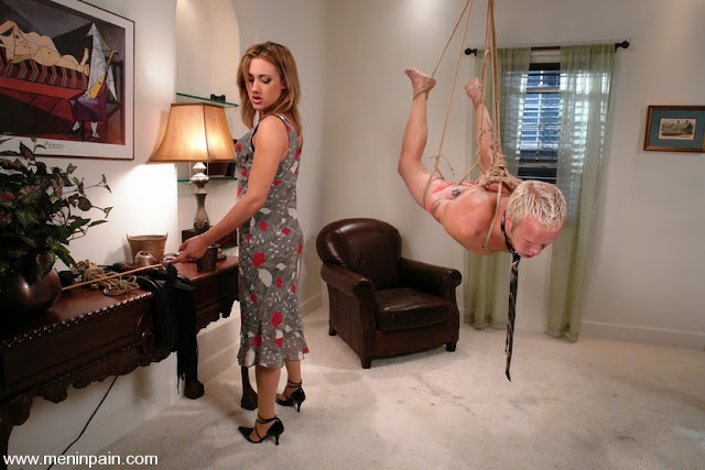 tied slave whip mistress wife