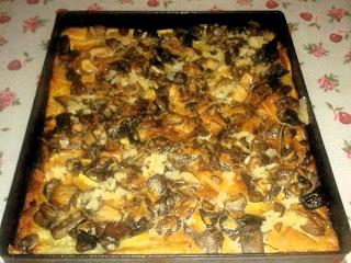 Ресторан дома - Рецепты - Картофель запеченный с грибами