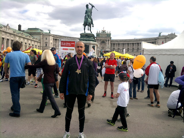 Vienna City Marathon 2013 Finish